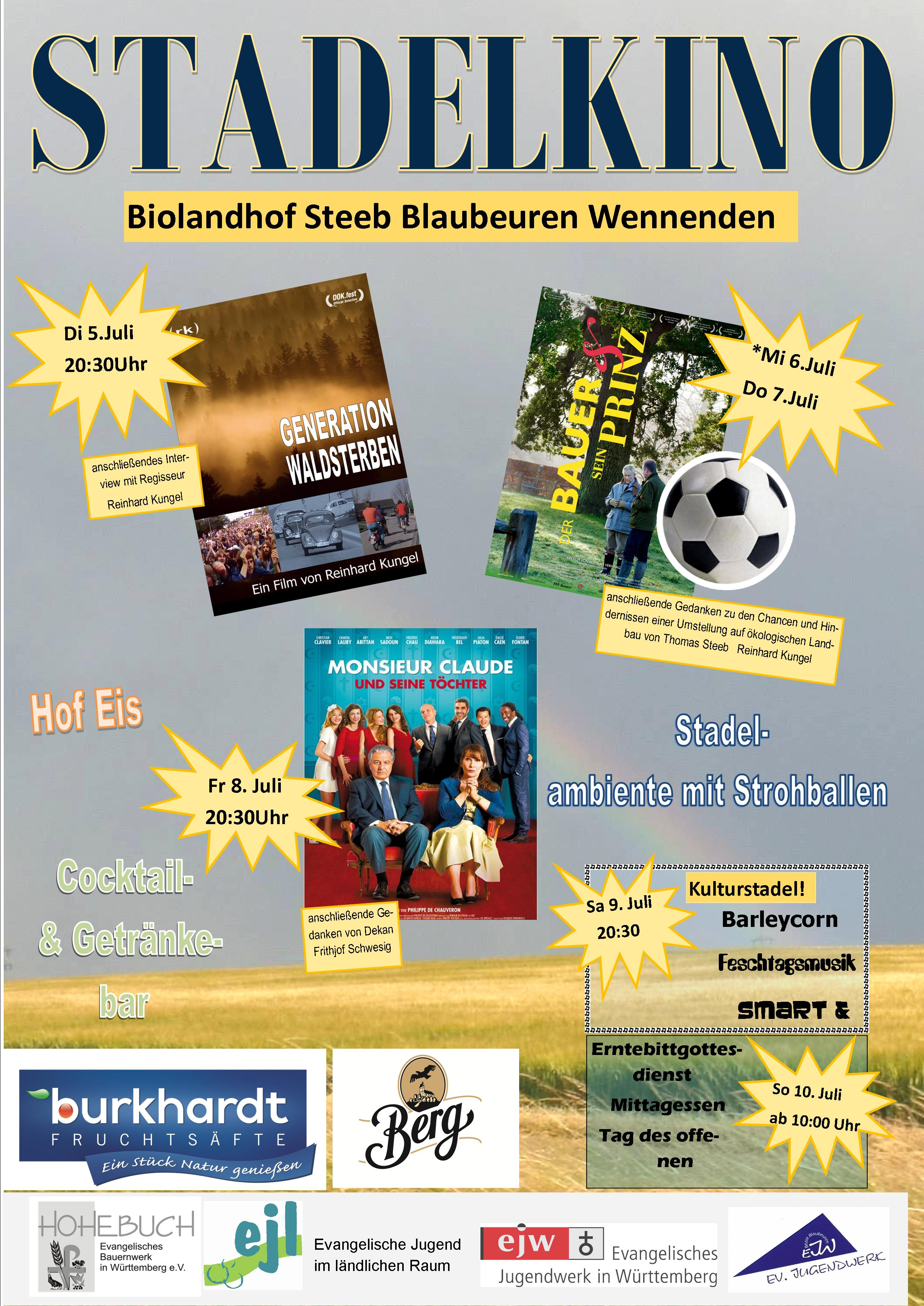 Plakate Stadelkino listo III