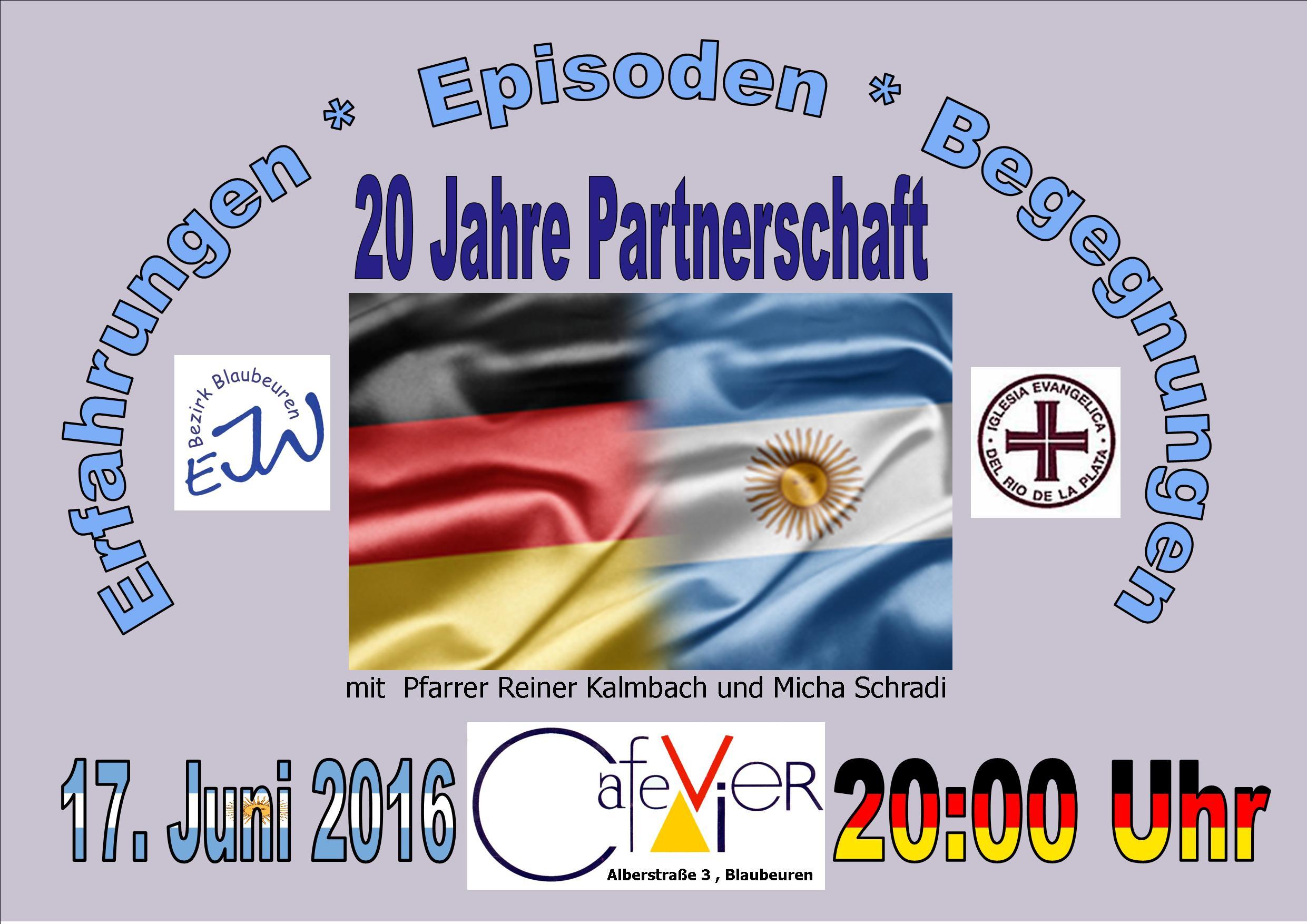arg 20 jahre partnerschaft